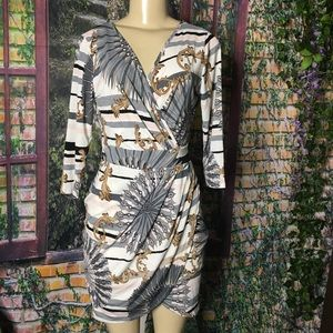 New Fashion nova midi dress size L
